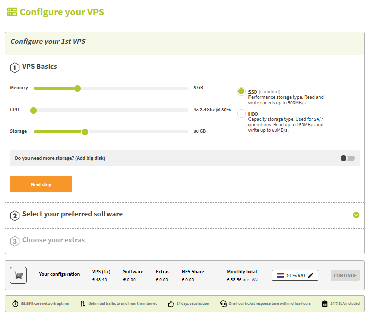 configure-VPS example